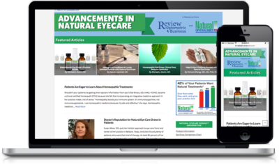 Natural Ophthalmics Web Site